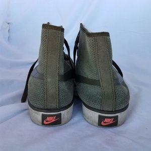 Nike Shoes - Suede Olive Nike Blazer
